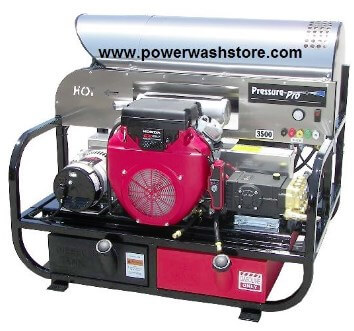 Hot water power washer machines from Power Wash Store