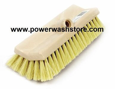 "10"" Heavy Duty Deck Scrub Brush #4520"