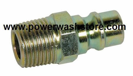 "11,000PSI Quick Coupler Plug - 3/8"" MPT #1898"
