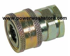 "11,000PSI Quick Coupler Socket - 1/4"" MPT #1891"