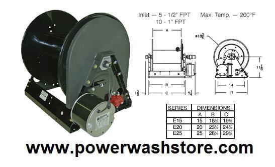 12v electric hose reel 100 39 power wash store inc for 12 volt hose reel motor
