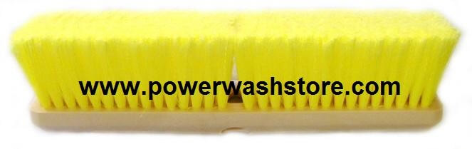 "18"" Heavy Fill Polystyrene Straight Truck Wash Brush #4510"