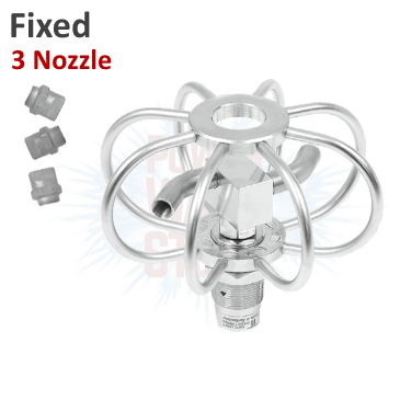Mosmatic Fixed 3 Nozzle Duct Cleaner