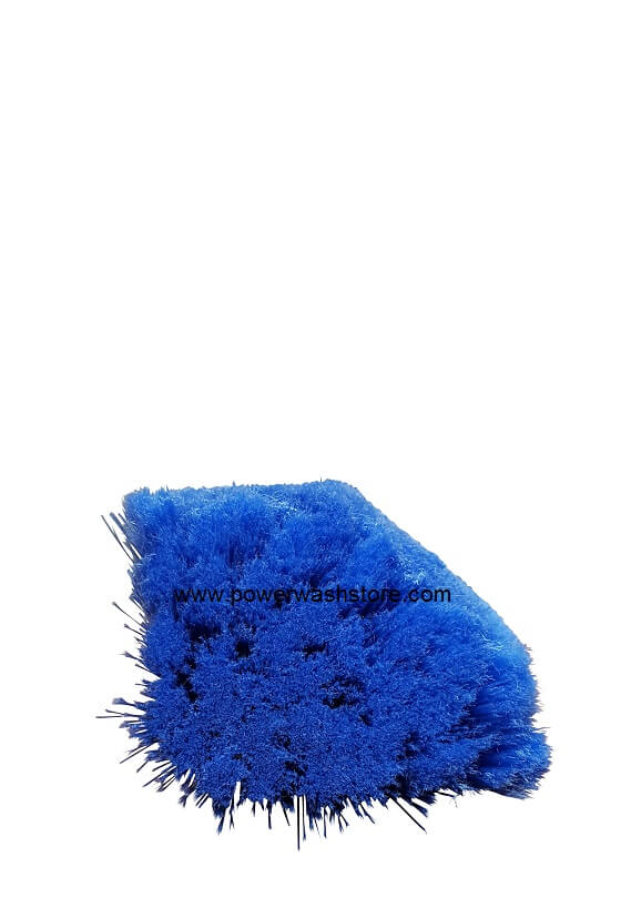 "11"" Multi-Surface Blue Nylon Bristle Brush"