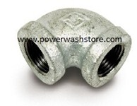 90 Deg Galvanized Elbow