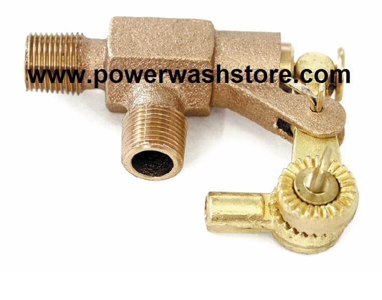 "Adjustable Bronze Float Valve 1/2"" #2221"