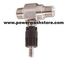 Adjustable Stainless Steel Injector