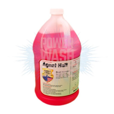 agent halt bleach neutralizer 1 gallon