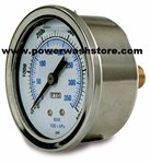 Back Mount Gauge - 6000 psi #3139
