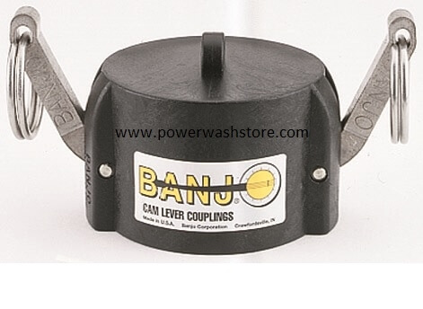 Banjo Polypropylene Cap-Male Adaptor