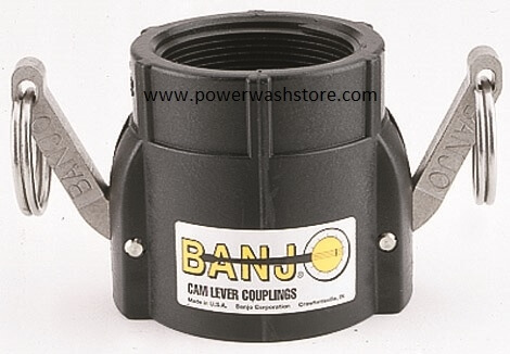 Banjo Polypropylene Female Coupler-Female Thread