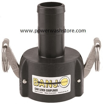 Banjo Polypropylene Female Coupler-Hose Barb