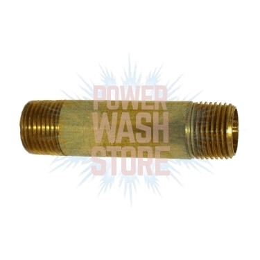 "1/4"" Brass Nipple for Sale"