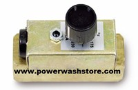Brass In-Line Adjustable Thermostat #4157