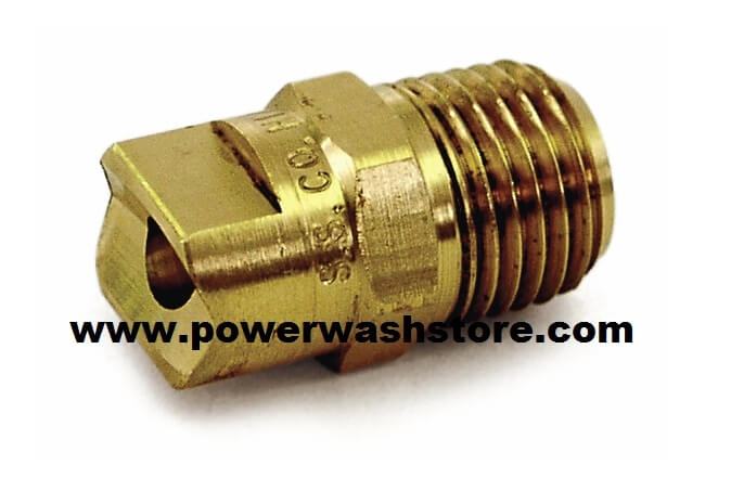 Brass Screw-In Soap Nozzle 40 Degree