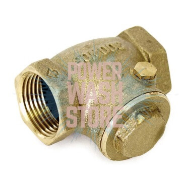 "Brass Check Valve Swing Action 1-1/2""FPT #3171 for Sale Online"
