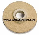 "Coil Disc End- 18"" Donut With Hole #3950"