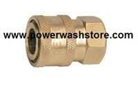 "Couplers- Brass 1/4"" FPT #1800"