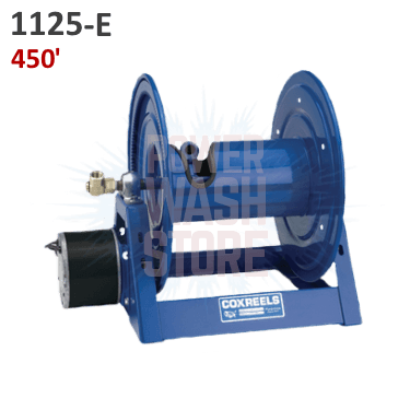 Cox 1125 Series Electric Rewind Hose Reel 450
