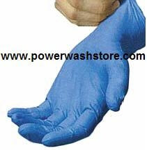 Disposable Nitrile Gloves - Large #4626