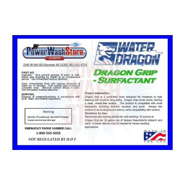 Dragon Grip Pressure Washer Sufactant High Foaming