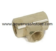 Extruded or Forged Tee - Brass