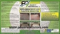 F9 Efflorescence and Calcium Remover  - One Gallon #ECR-1