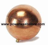 "Float Ball - Copper 4"" x5"" #2230"