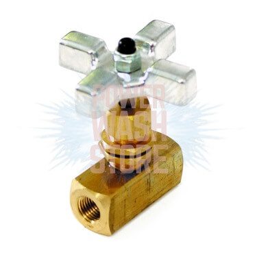 Flow Control Metering Valve w/poly knob #3081 for Sale Online