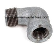 Galvanized Street Elbow