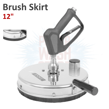 Mosmatic Graffiti Remover w Brush Skirt 12 inches