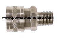 Hansen Stainless Steel - 1/2 MPT Quick Connect Coupler