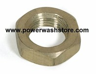 Hex Pipe Nut - Brass