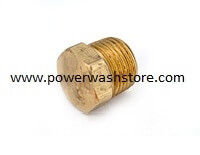 Hex Socket Head Plug - Brass