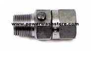 "In-Line Swivel 3/8"" Stainless #1951"
