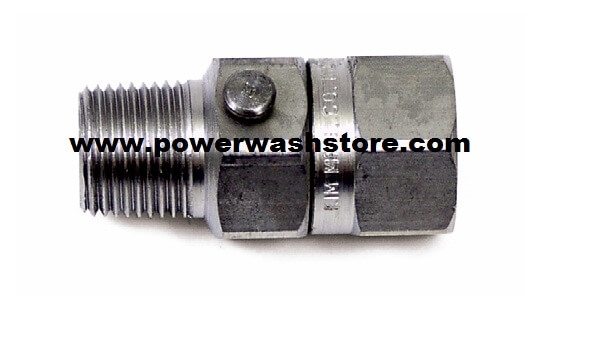 "In-Line Swivel 1/4"" Stainless #1950"