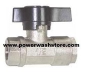 "Industrial Ball Valve 1/2""- #6293B"