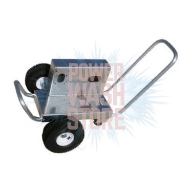 "Aluminum Belt Drive Cart w/10"" Wheels #KCA060"