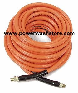 "Orange Agricultural Hose  PER FOOT 1/2"" #1568"