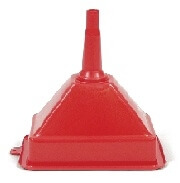 "Poly Drum Funnel - 7"" x 10"" #4615"