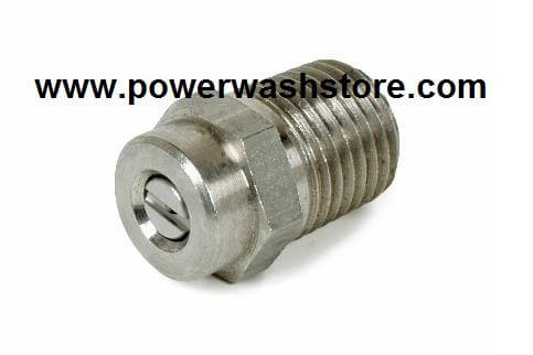 "1/4"" 15 Degree General Pump Screw-In Nozzle"