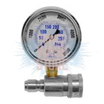 Quick Connect Pressure Gauge