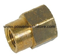 Reducing Hex Coupling- Brass