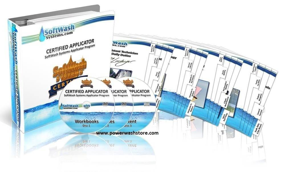 SoftWash Systems Certified Applicator DVD #SWS-DVDCERT