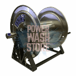 Steel Eagle S.S. A-Frame Hose Reel - 550ft K01-0108-1