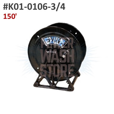 Steel Eagle A-Frame Hose Reel - 150
