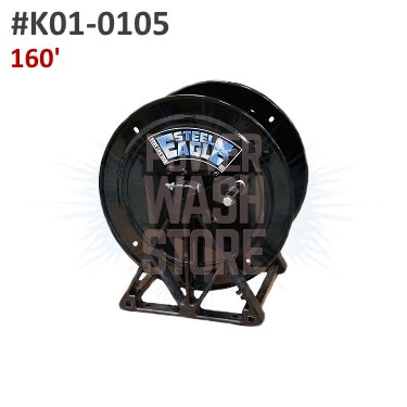Steel Eagle A-Frame Hose Reel - 160