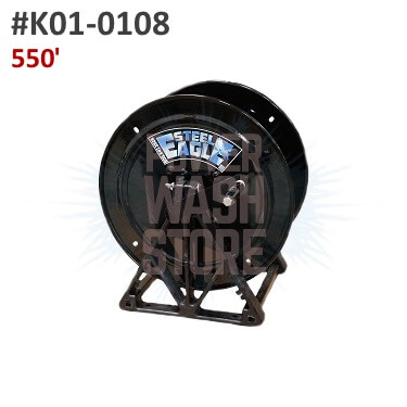 Steel Eagle A-Frame Hose Reel - 550