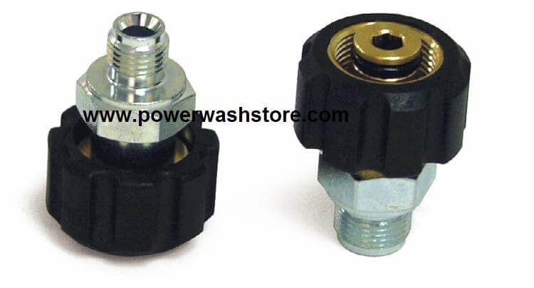 "Twist Lock Coupler- 3/8"" MPT  #1883"