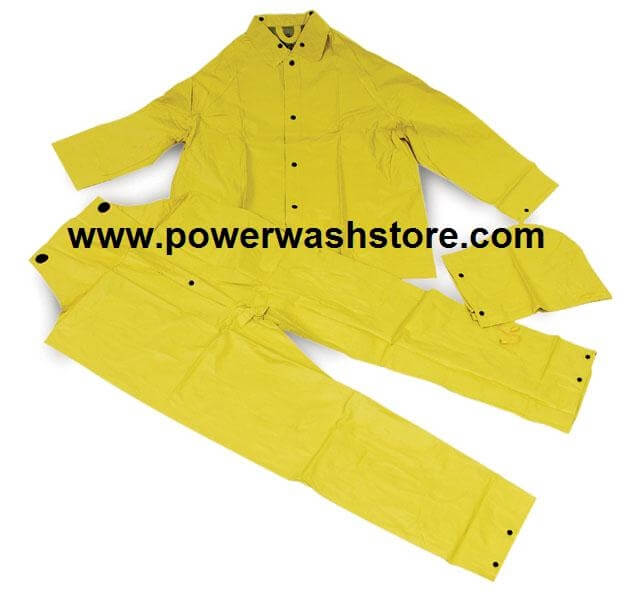 Two Piece Rain Suit-Large #4660